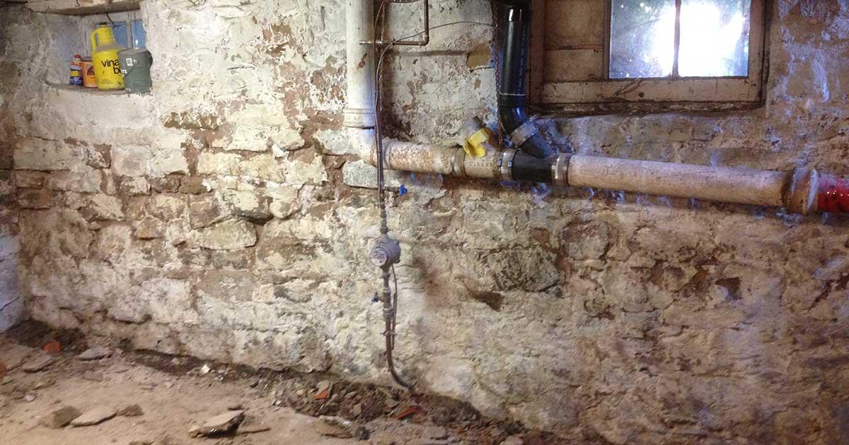 Wet Basement Repair in Trenton NJ